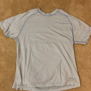 Men's lululemon blue shirt L size large